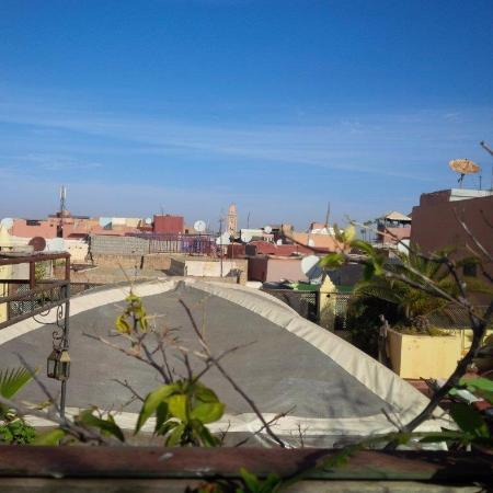 Riad Al Mamoune: VIstas desde la terraza