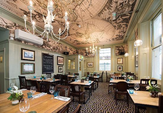 good food pub style the clarence whitehall london traveller rh tripadvisor co uk