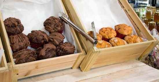 Cockerham, UK: Muffins