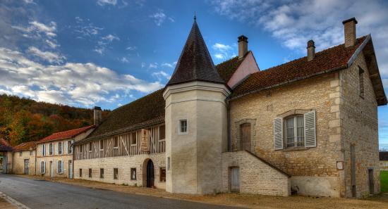 Abbaye de Clairvaux: Hostellerie des dames, bâtiment d'accueil