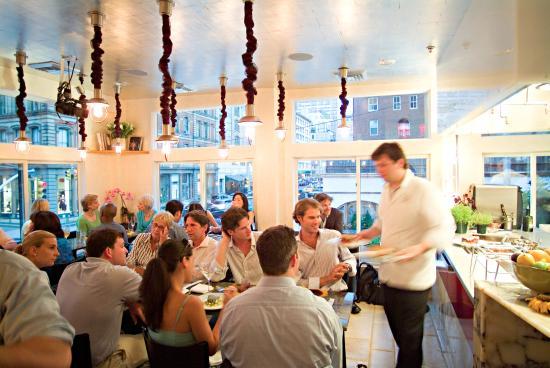 Upstairs at Bouley Bakery : Dining at 'Upstairs'