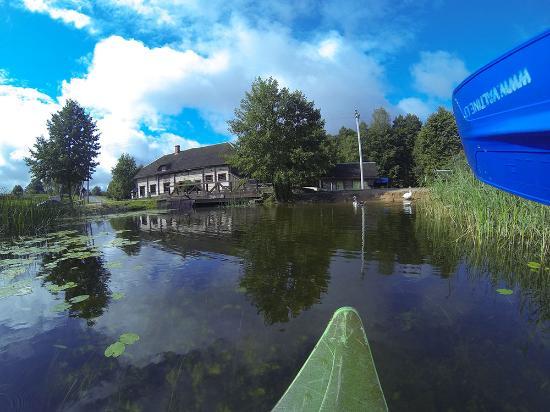 in canoa vicini a Ginuciaci - Paluses Valtine baidares valtine.lt