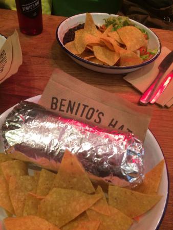 Benito's Hat: burrito