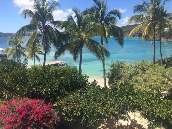 Benner, St. Thomas: 3 Bedroom Unit - View from Balcony