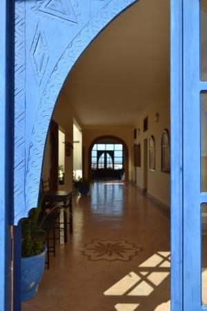 Auberge Du Marabout: Pasillo de las habitaciones