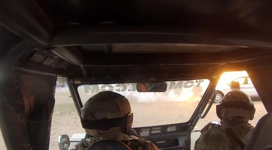 Tonopah, Аризона: Rpg inbound during vehicle exfil.