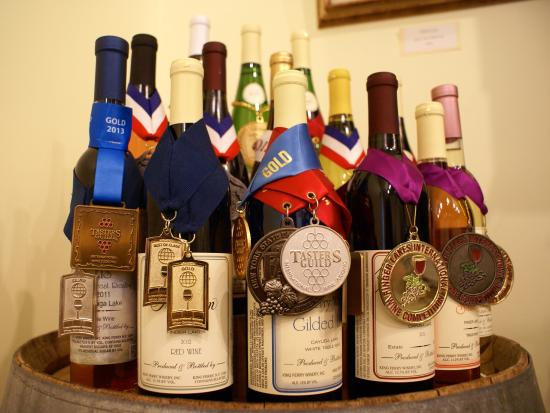 King Ferry, NY: Award-winning Treleaven wines