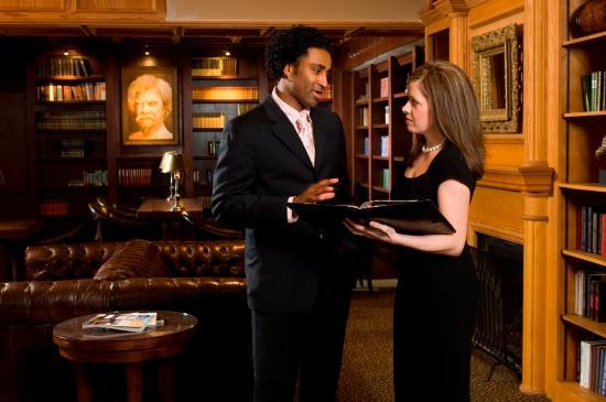 Mark Twain Hotel: Lobby Meeting