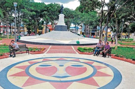 Bucaramanga, Colombia: parque centenario