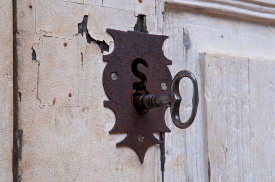 Sumidouro, RJ: Fechadura e chave originais do século XIX