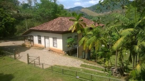 Sumidouro, RJ: O Casarão do Engenho visto de cima.