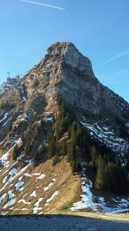 Moleson, Ελβετία: Antes da subida!