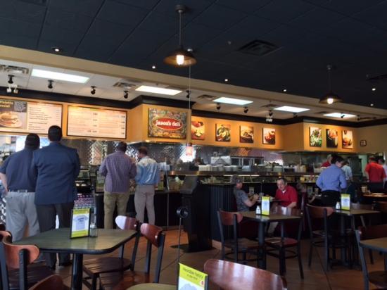 Jason's Deli: Interior ordering line