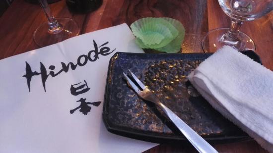 Il Ne Reste Plus Rien Dans Mon Assiette Picture Of Hinode