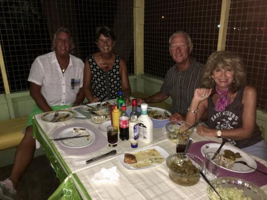 Holetown, Barbados: After enjoying a Typical meal at Nancy's