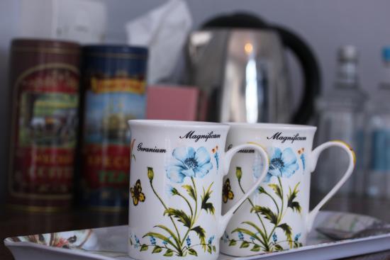 Hadleigh, UK: Tea & Coffee Facilities