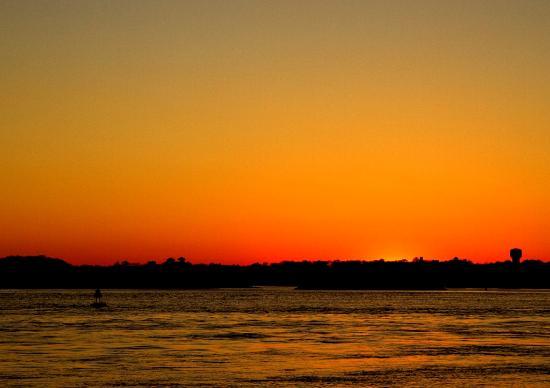 An Inn on the Ocean: Southeast inlet sunset. All photos by B & B Client.