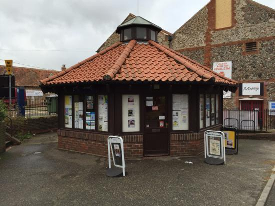 Tourist Information Centre at Wells-next-the-Sea