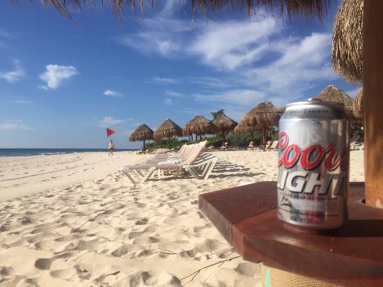 Playa del Secreto, Mexico: Beach
