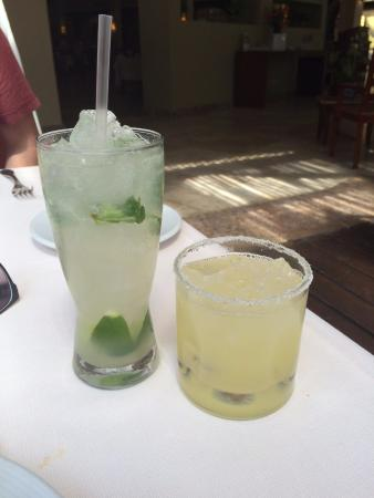 Playa del Secreto, Mexiko: Drinks
