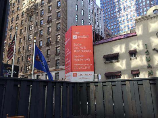 view over 54th street picture of hilton garden inn new york rh tripadvisor co za