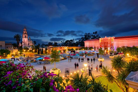 San Diego, CA: Balboa Park, an urban cultural park with museums, beautiful gardens and theatres.