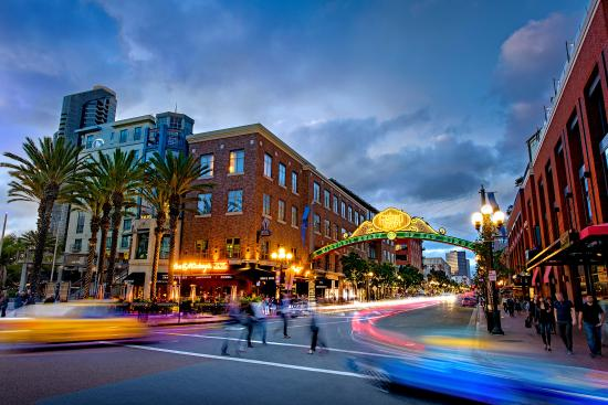 San Diego, CA: The Gaslamp Quarter is one of the hottest nightlife destinations on the West Coast