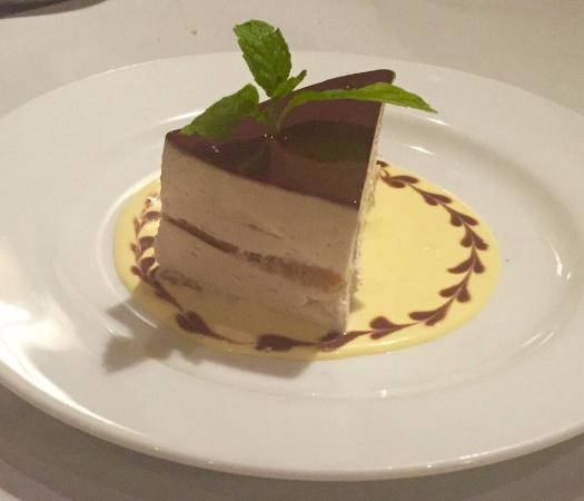 Shiro: Hazelnut Mousse Cake