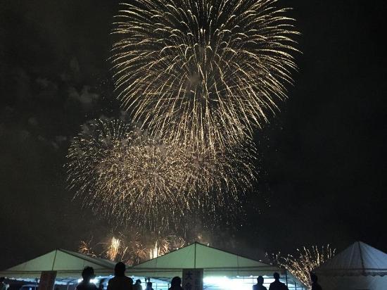 Hakodate Port Fireworks
