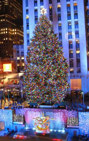 Rockefeller Center Christmas Tree (New York City) - 2018 ...