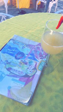 Pina coladas, mimosas, margaritas, fruit plates!