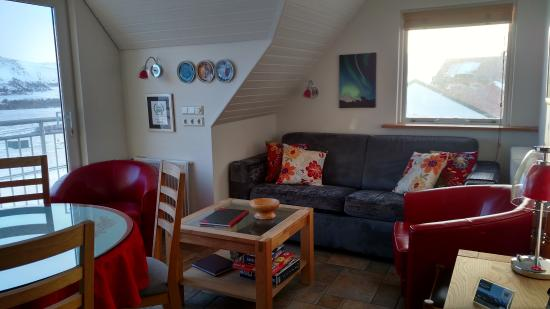 Minna-Mosfell Guesthouse: Common area