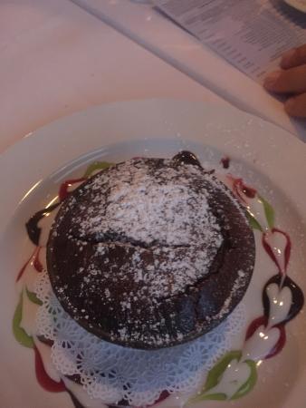 Hideaway Cafe: Volcano Chocolate!!!