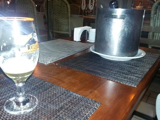 Restaurante Canto Do Mar: Chopp geladinho.