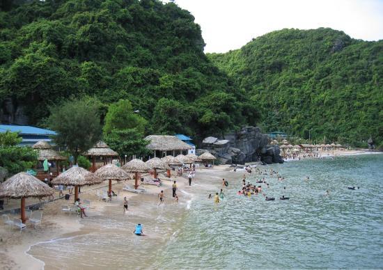 Halong Bay Cruises Cat Ba Sandy Beach Resort