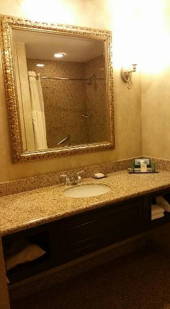 bathroom mirror pretty picture of hilton fort worth fort worth rh tripadvisor com