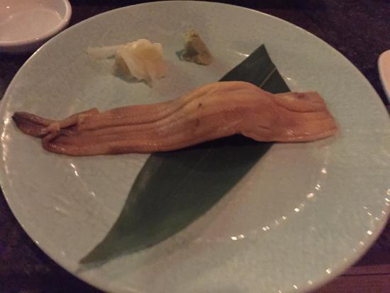 Komegashi Japanese Restaurant: Sushi roll - eel - gluten free