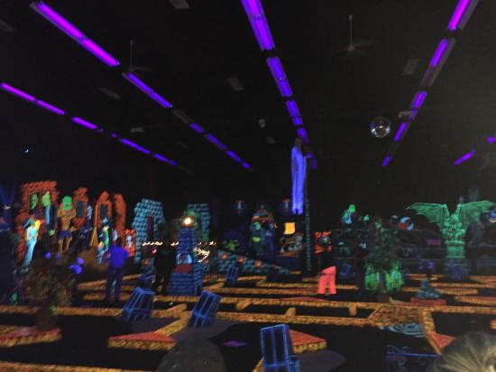 Monster Mini Golf and Laser Tag