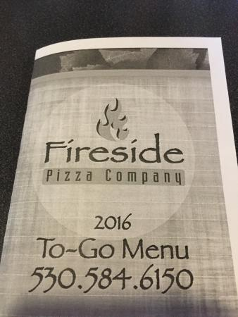 Fireside Pizza Company : I tried the pizza of the week!
