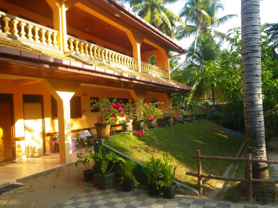 T.K. Green Garden Hotel : Les chambres et les fleurs