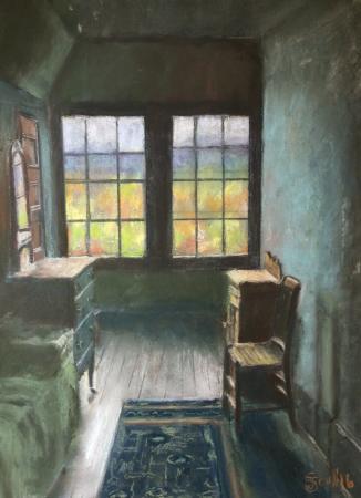 Bridgeton, Nueva Jersey: At Gallery 50 now. Upstairs Bedroom at Naumkeag.