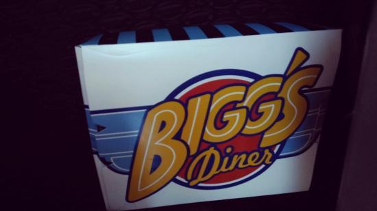 Bigg's Diner: To go. Tapsilog for breakfast