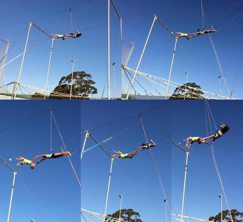 Flying Trapeze Perth - Cirque Espace