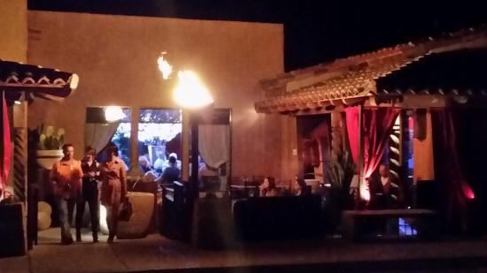 Tubac, AZ: Patio dining is available too.