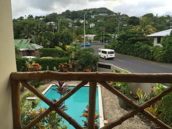 Vaea Hotel Samoa: View of outside of room