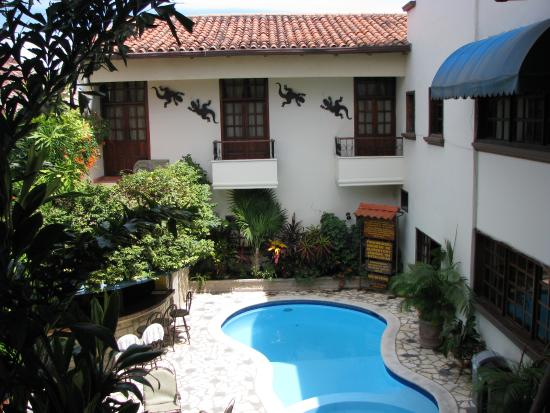 Hotel Plaza Copan: pool