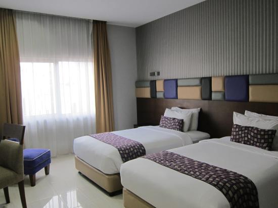 kamar type standard twin picture of hotel gren alia cikini rh tripadvisor com