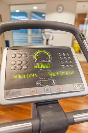 Hotel Bredeney : klimatisierter Fitnessraum