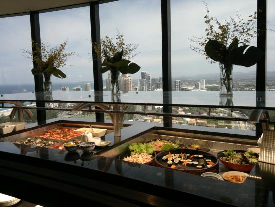seafood buffet picture of four winds revolving restaurant surfers rh tripadvisor co za