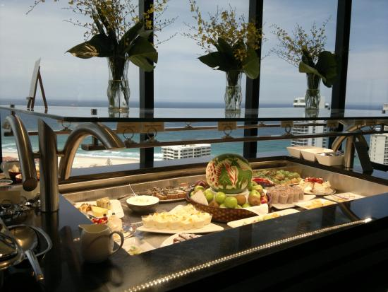 dessert buffet picture of four winds revolving restaurant surfers rh tripadvisor co nz